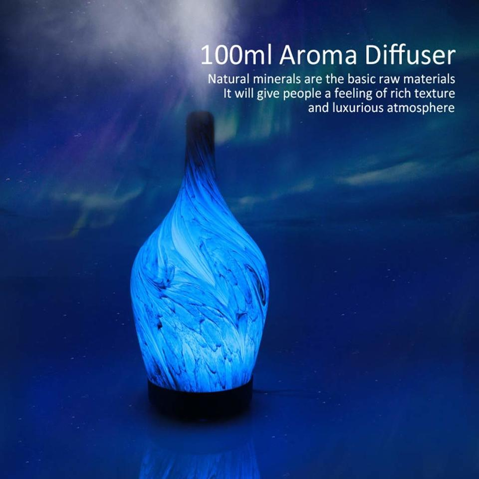 Marble Finish Glass Diffuser