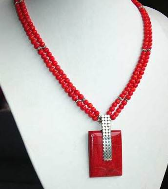 Coral Necklace -