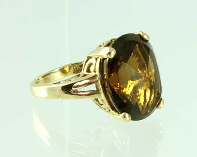 Citrine Ring - Beer
