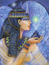 Goddess Maat A4 Print for sale